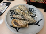 Grilled Oysters - direct from the sea